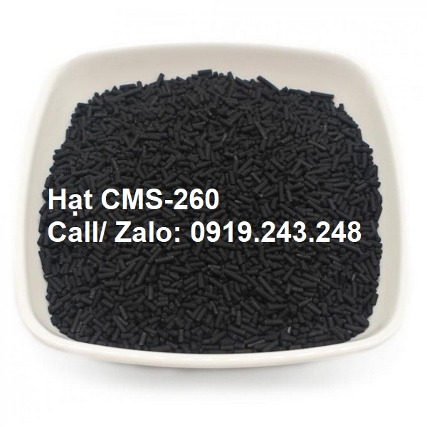 CMS-260 HẠT CMS (CARBON MOLECULAR SIEVE)